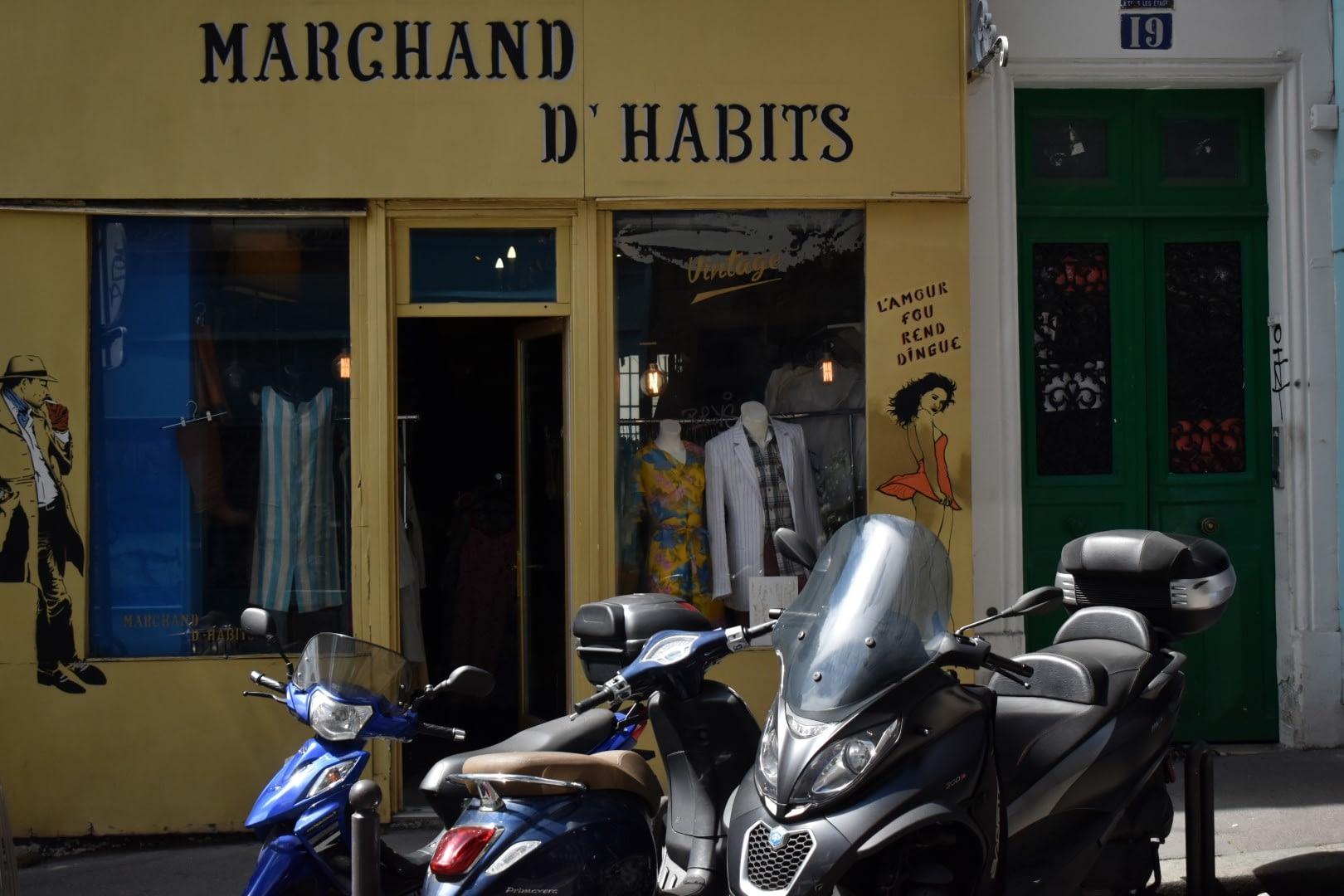 Rue Houdon, Paris