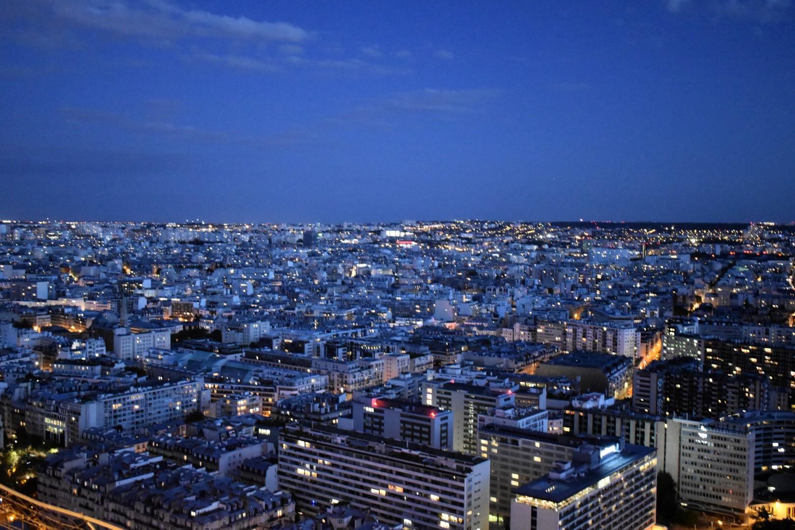 Second floor of the Eiffel Tower, Paris