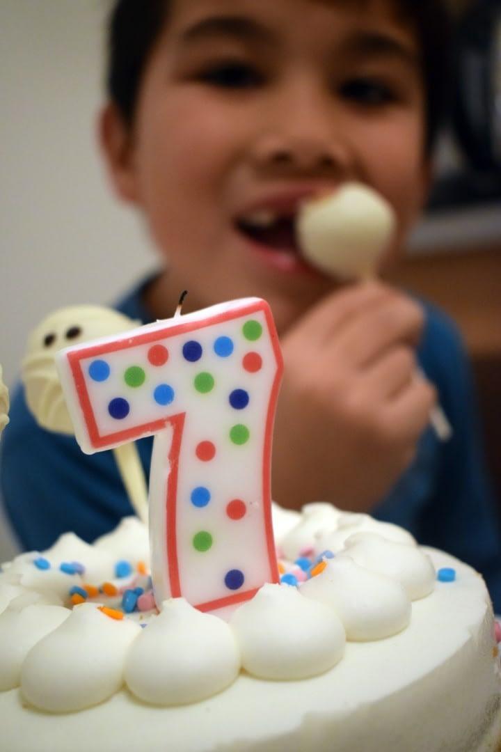 Mark's birthday celebration