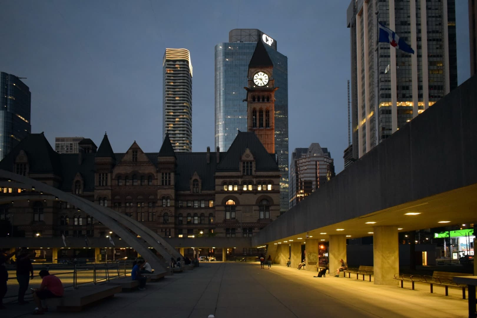 Nathan Phillips Square, Queen Street West, Toronto