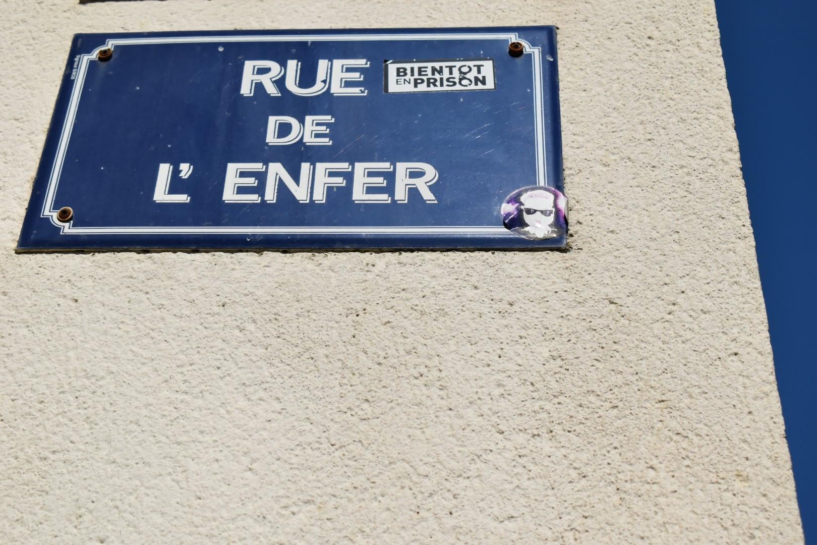 Rue de l'Enfer, Les Sables-d'Olonne