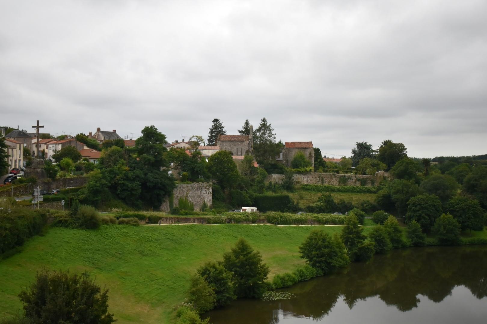 Town of Tiffauges and around, Vendée