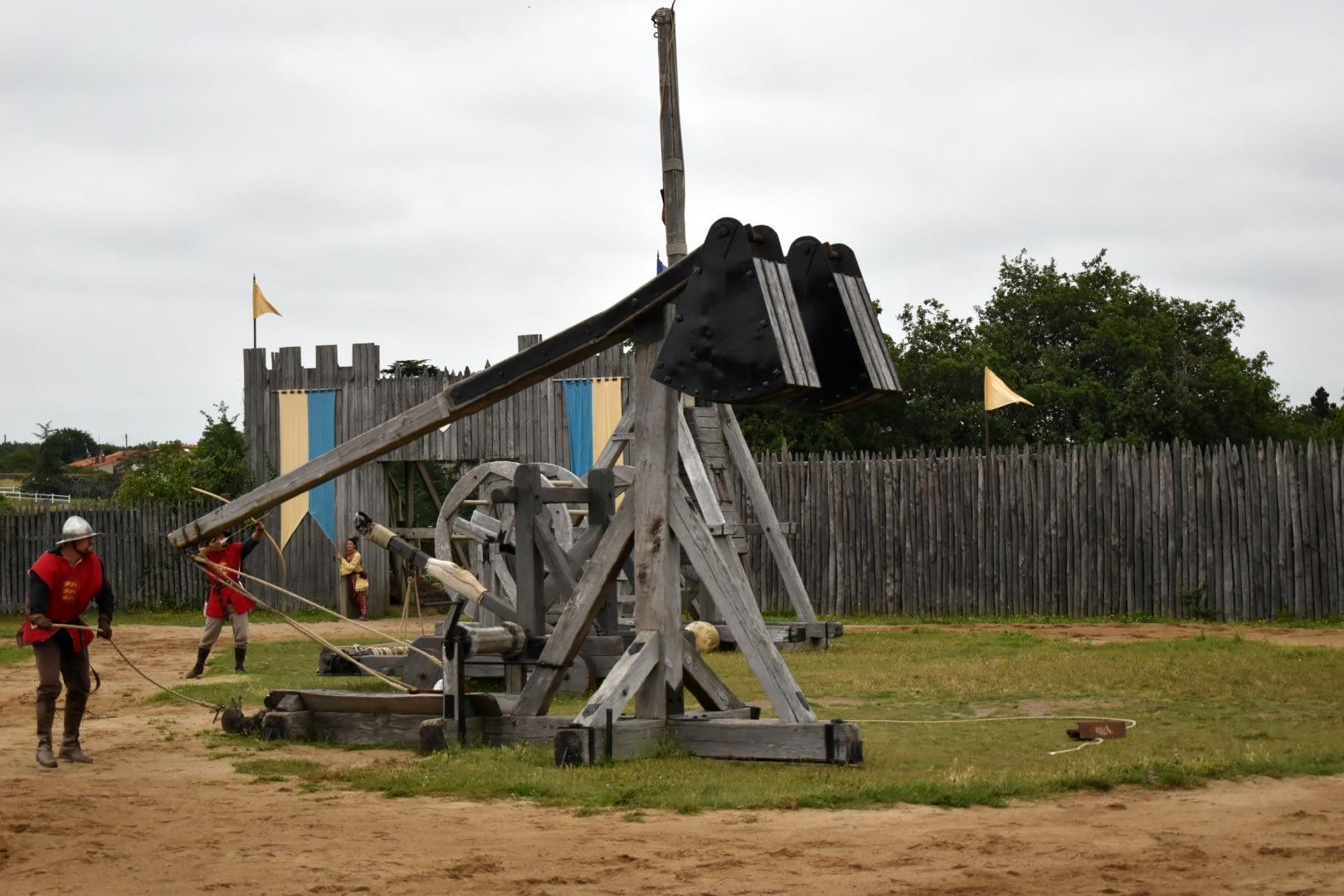 """""""En temps de siège"""" show, Château de Tiffauges"""