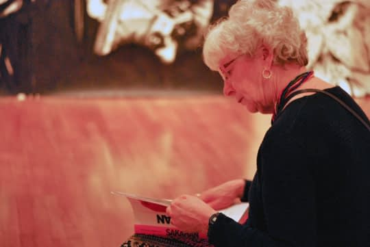 The Art Lover, at the National Art Gallery