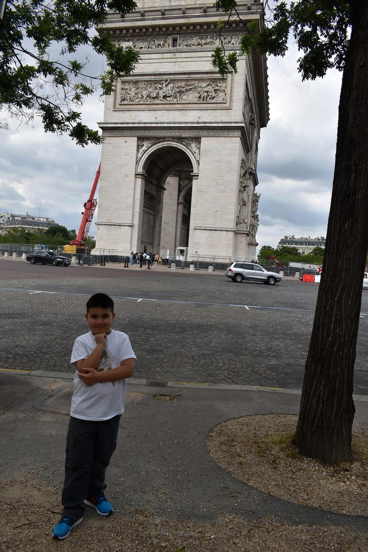 Arc de Triomphe. Place Charles de Gaulle, Paris