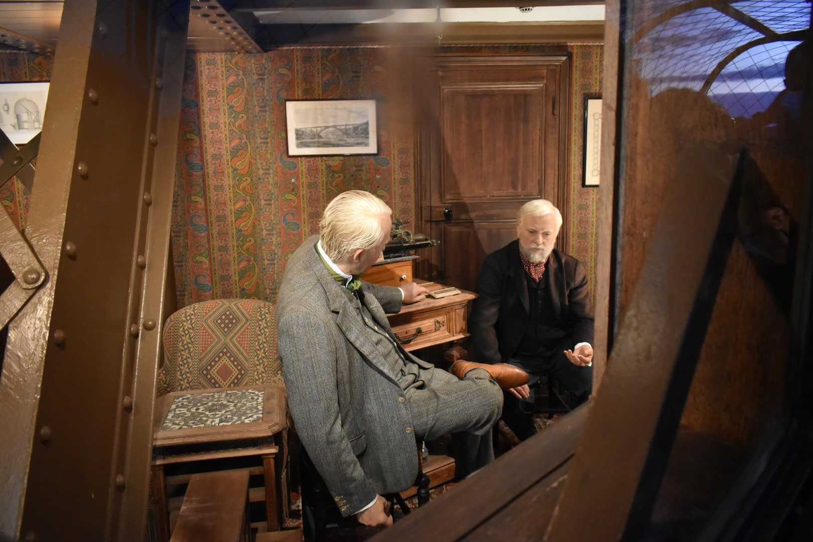 Gustave Eiffel's office, top of the Eiffel Tower, Paris