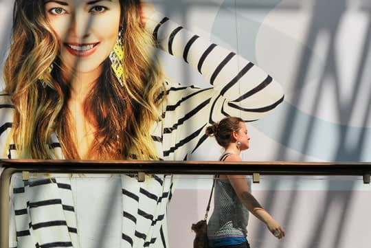 Walking by Fashion, at the Rideau Centre