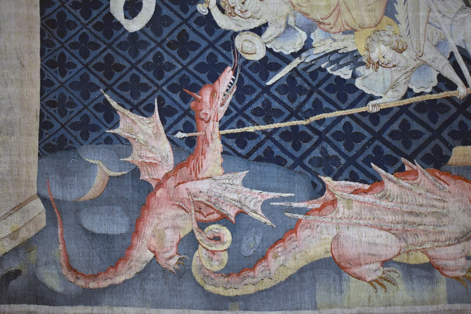 Tapisserie de l'Apocalypse, Château d'Angers