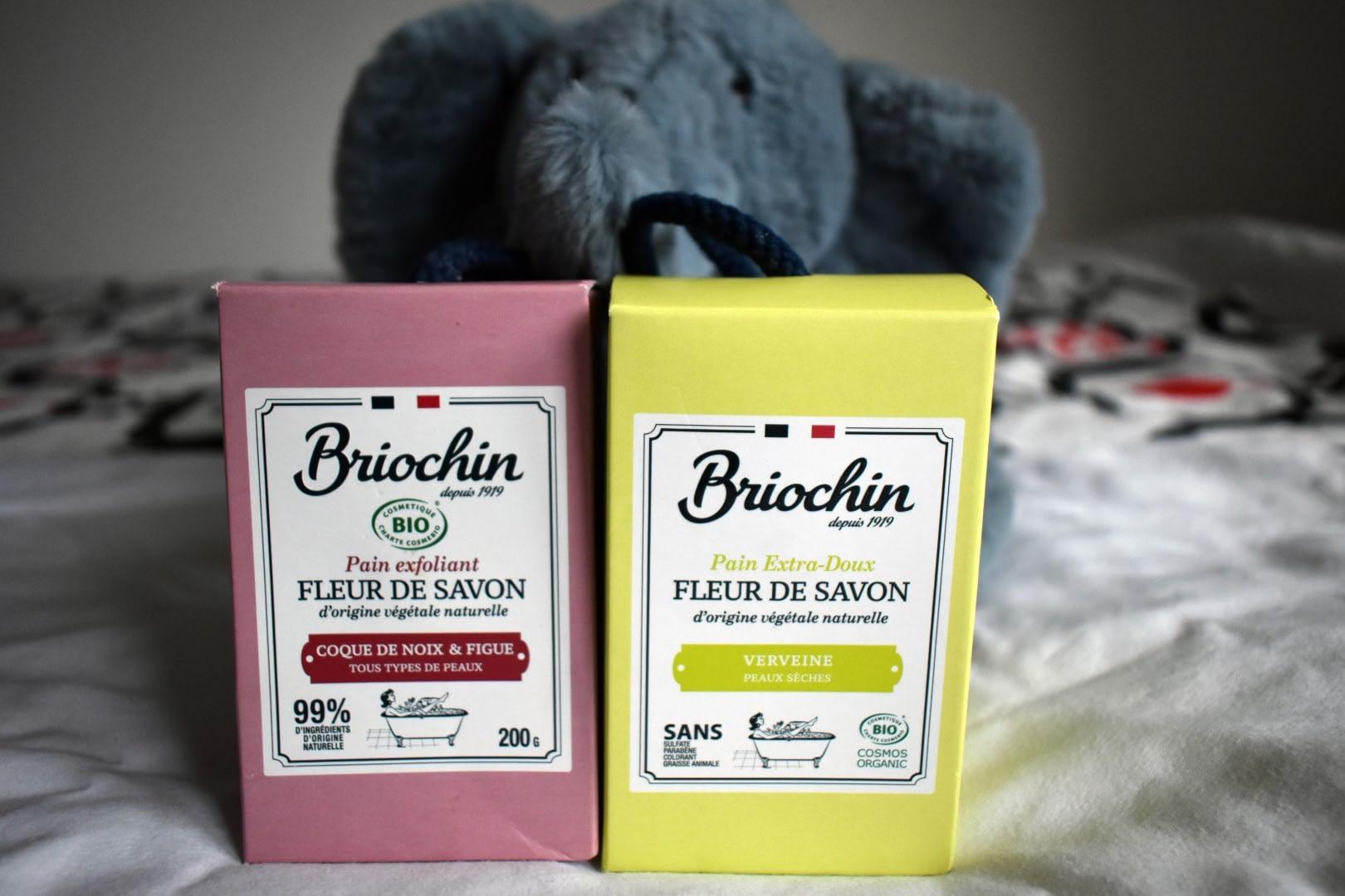 Briochin soap bars