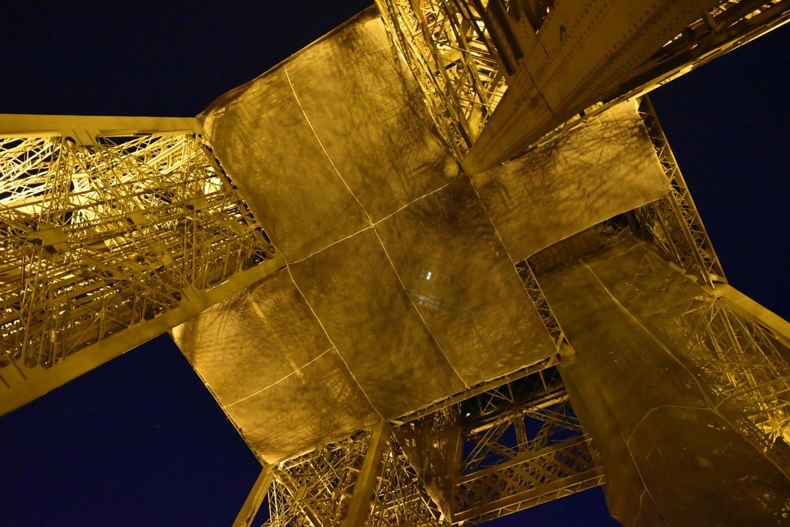 Bottom of the Eiffel Tower, Paris