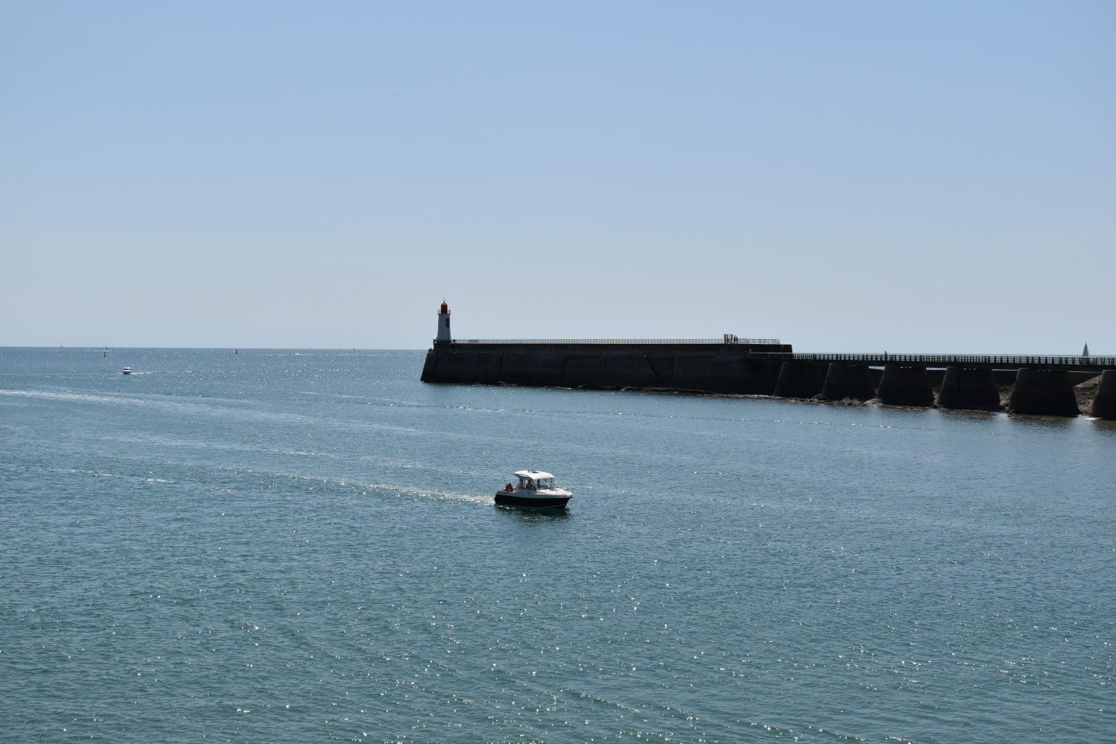 La Jetée des skippers, Les Sables-d'Olonne