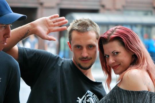 The Rideau Street Couple