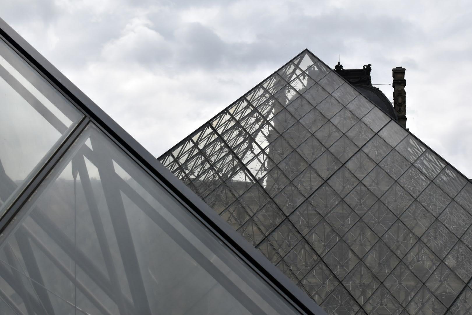 Louvre Pyramid, Paris