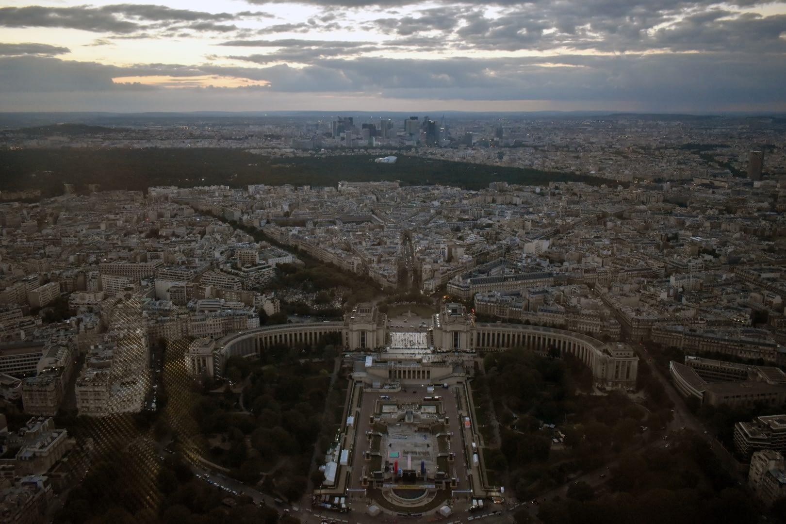 Trocadéro, top of the Eiffel Tower, Paris